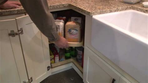 Remove Kitchen Cabinet The Super Lazy Susan Cabinet By Cliqstudios Com Youtube