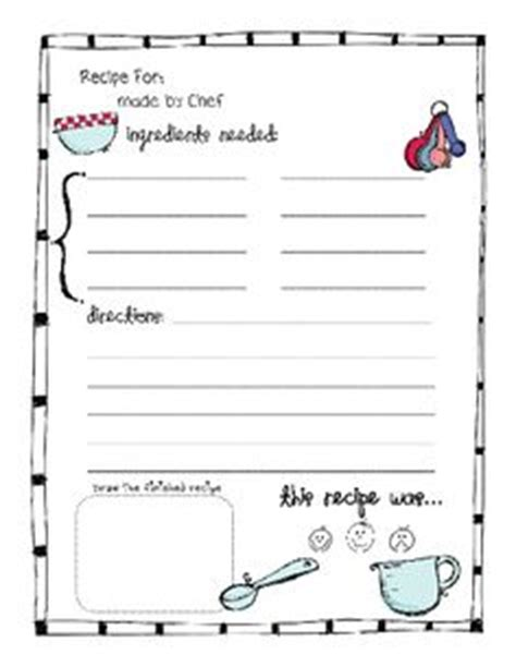standard recipe card template 1000 images about class cookbook on recipe