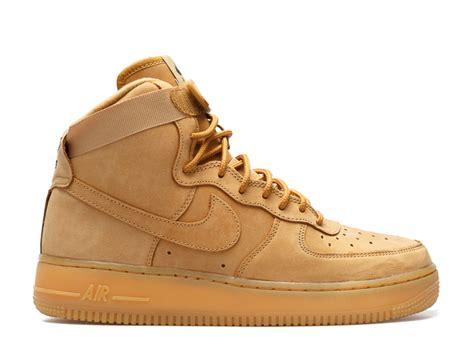 Nike Air Fprce 1 air 1 high lv8 gs quot flax quot nike 807617 200