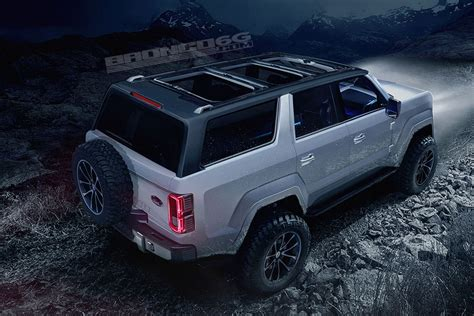 ford bronco 2020 4 door new ford bronco to be 4 door only renderings show
