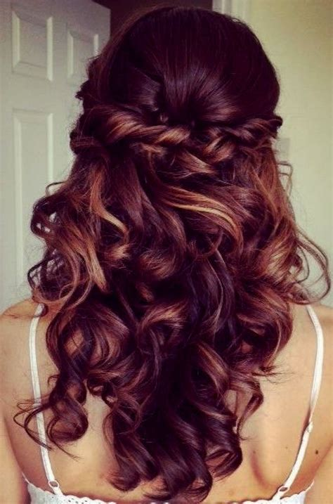 soft waves hairstyles for prom prom hairstyles for long hair down loose curls archives