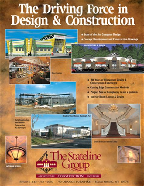 ad architectural design ted decagna print advertising print design nj nyc