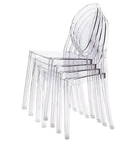 sedie trasparenti kartell sedute in policarbonato trasparente di kartell arredare