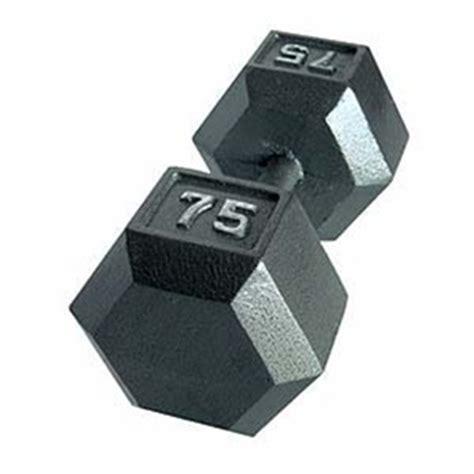 CAP Cast Hex Dumbbell Set   55 100 Lb Set   GymStore.com