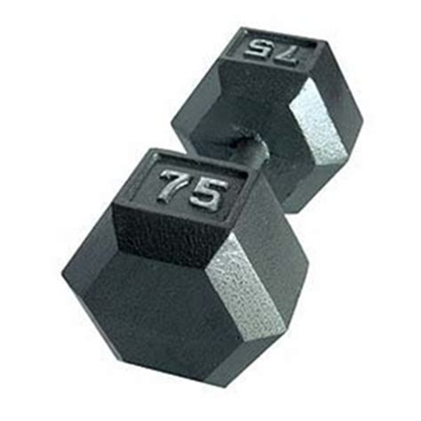 CAP Cast Hex Dumbbell Set   55 100 Lb Set   GymStore.com
