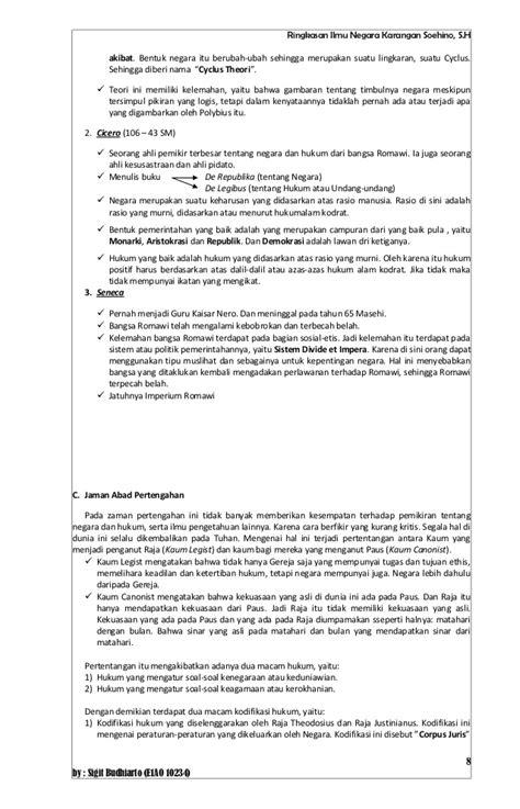 Contoh Makalah Negara Hukum Dan Ham - Contoh II