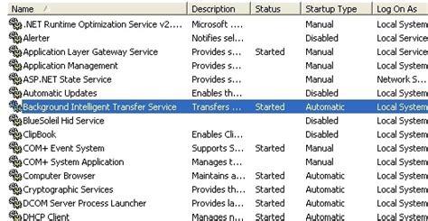background intelligent transfer service background intelligent transfer service slow pc texpert