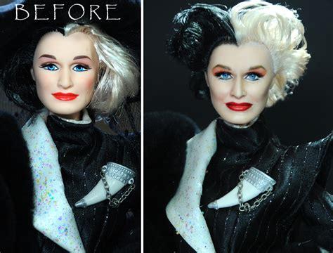 doll repaint glenn cruella doll custom repaint by noeling