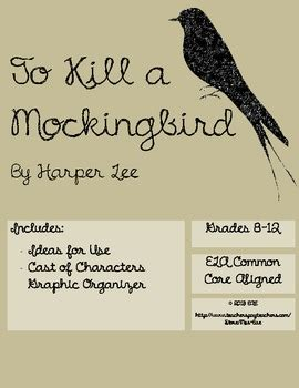 to kill a mockingbird theme graphic organizer to kill a mockingbird characters graphic organizer by mrs