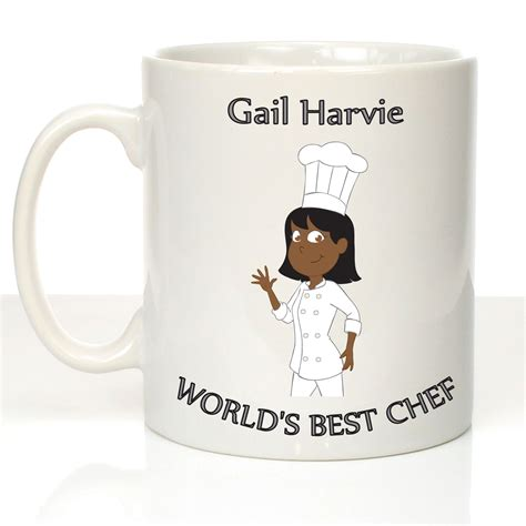 best gifts for chefs gifts for female chefs personalised female chef mug