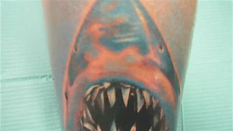 jaws tattoo jaws