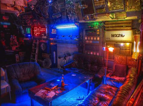 cyberpunk home decor a very cuberpunked out interior the cyberpunk inspiration