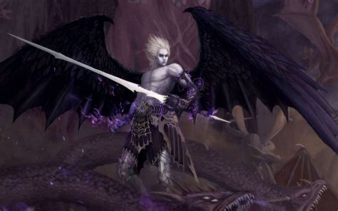 angel wallpaper abyss angel warrior wallpaper and background 1280x800 id 182434