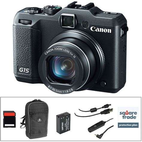 canon g15 digital canon powershot g15 digital with deluxe accessory