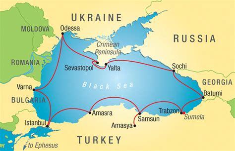 black sea map location trip details travel study stanford alumni association