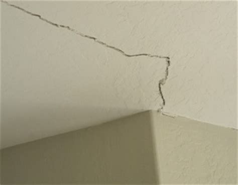 Filling Cracks Between Wall And Ceiling by Ceiling Repair Foundation Repairs
