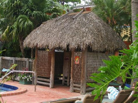 Tiki Hut House Tiki Hut By One Of The Pools Picture Of Crane S
