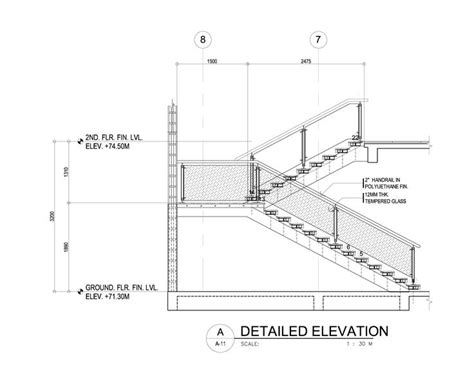 concrete stair section concrete stair detail google search masters studio b