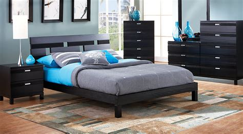 platform bed sets queen gardenia black 6 pc queen platform bedroom queen bedroom