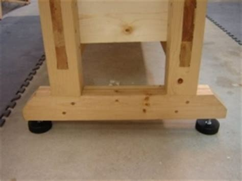 bench leveling feet homemade workbench leveling feet homemadetools net