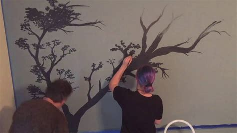 how to paint murals on bedroom walls painted tree wall murals www pixshark com images galleries with a bite
