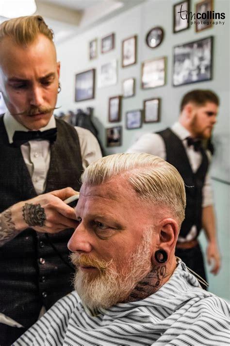 the gentlemans vintage haircut the dapper gentleman amsterdam barber shop haarbarbaar tim collins