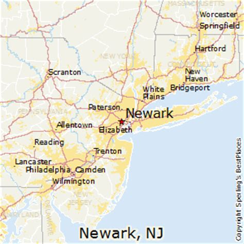 average rent in nj best places to live in newark new jersey