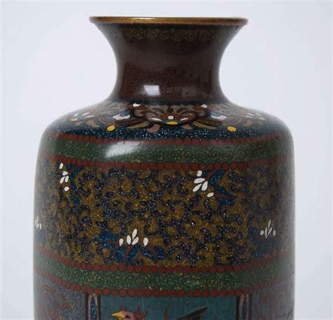 Japanese Cloisonne Vase Value by 19thc Hayashi Kodenji Workshop Japanese Cloisonne Vase