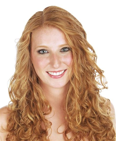 Hairstyles With Perms For Middle Age Women | long permed curly hairstyles curlformers perm creates