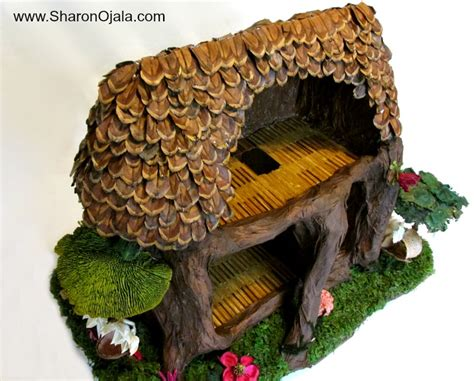 fairy doll house homemade obsessions woodland fairy dollhouse makeover