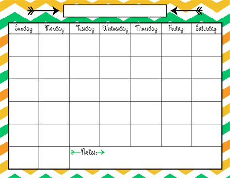 Fall Calendar Colors Printable Calendar Calendar Template 2016
