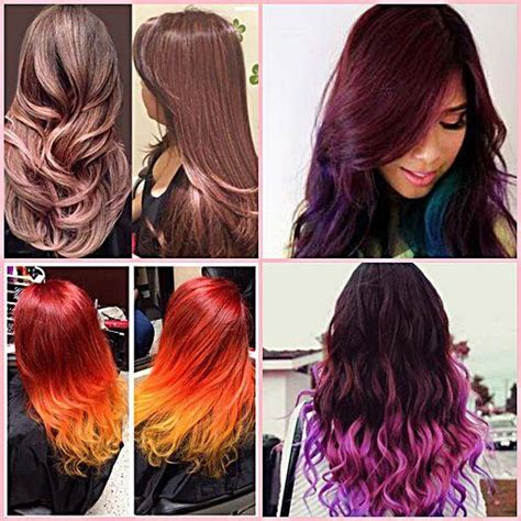 Hair Color Design Ideas by Maroon Highlights On Hair Brown Hairs