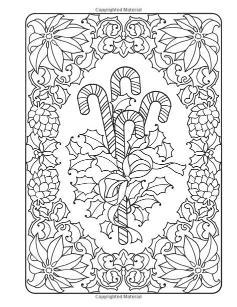 creative haven   fashioned christmas coloring book