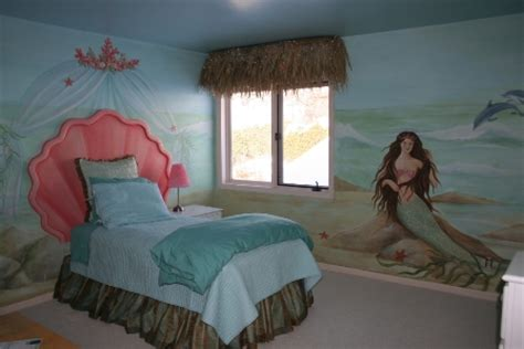 under the sea bedroom mermaid theme d 233 cor for kids interior designing ideas