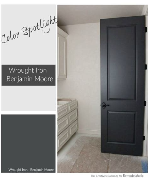 color of iron remodelaholic color spotlight benjamin wrought iron
