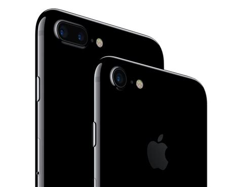 apple unveils iphone 7 with water resistance a10 fusion new jet black color updated cameras