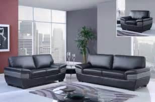 Black And Grey Leather Sofa Trendy Black And Grey Contemporary Bonded Leather Sofa Set Philadelphia Pennsylvania Gf7230