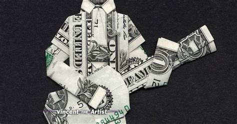 Origami Guitar Dollar Bill - money origami abe lincoln guitar money dollar