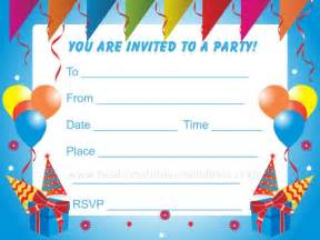 free birthday invitations theruntime