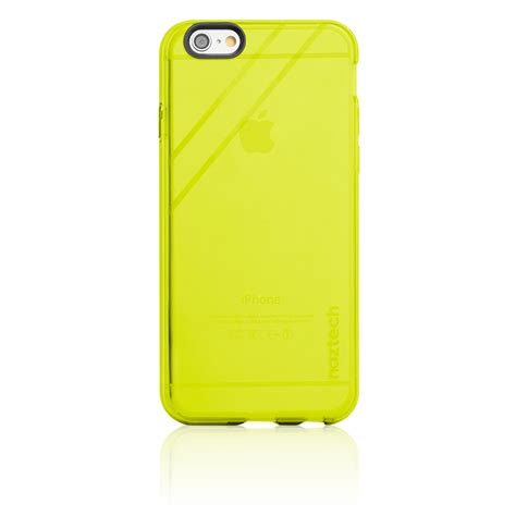 Jelly Iphone 6s naztech tpu jelly cover for iphone 6 6s yellow