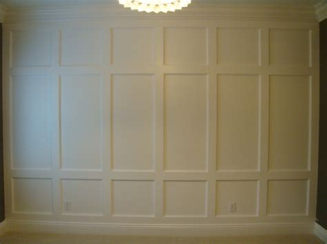 Wainscoting Wall white wainscoting feature wall diy projects