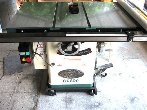 review grizzly g0690 table saw with riving knife by