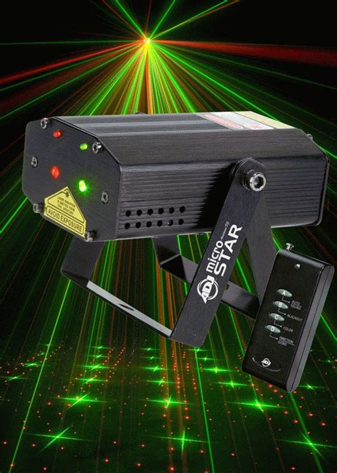 american dj micro galaxian laser special effects lighting lighting liquid laser sky producing unit djs