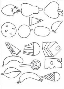 Hungry Caterpillar Templates Free by Crafts For Preschoolers Templates