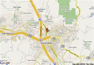 map escondido california map of the inn escondido