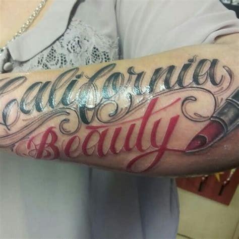 Lipstik Tato 14 lipstick tattoos on arm