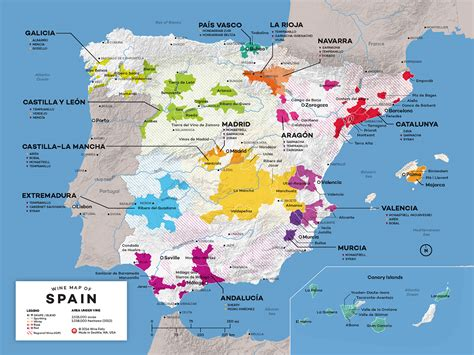 of spain map of spain wine regions wine folly