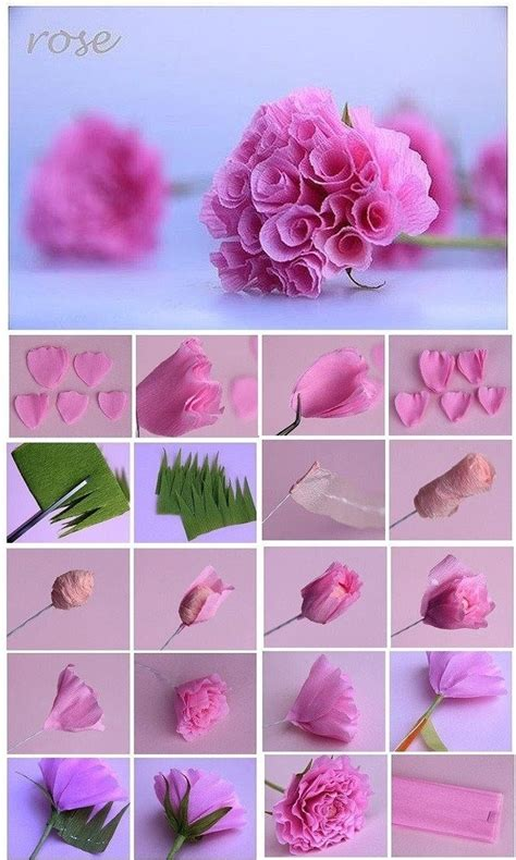 How To Make Roses With Paper Step By Step - how to make paper roses origami step by step exles