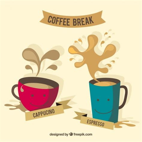 nice coffee cups nice coffee cups vector free download
