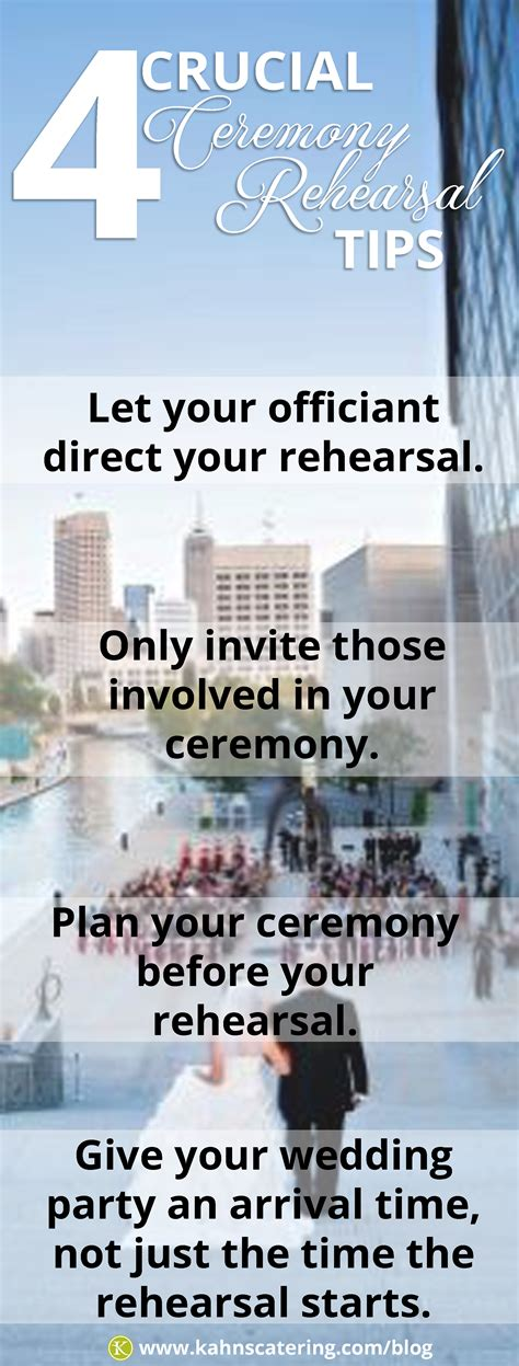 wedding ceremony rehearsal 4 crucial tips for your wedding ceremony rehearsal kahns
